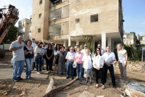פרוייקט מגורים מולכו - רמת גן